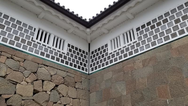 石川門石垣[金沢城]