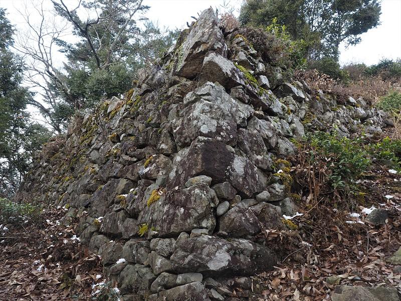 石垣(西の丸)