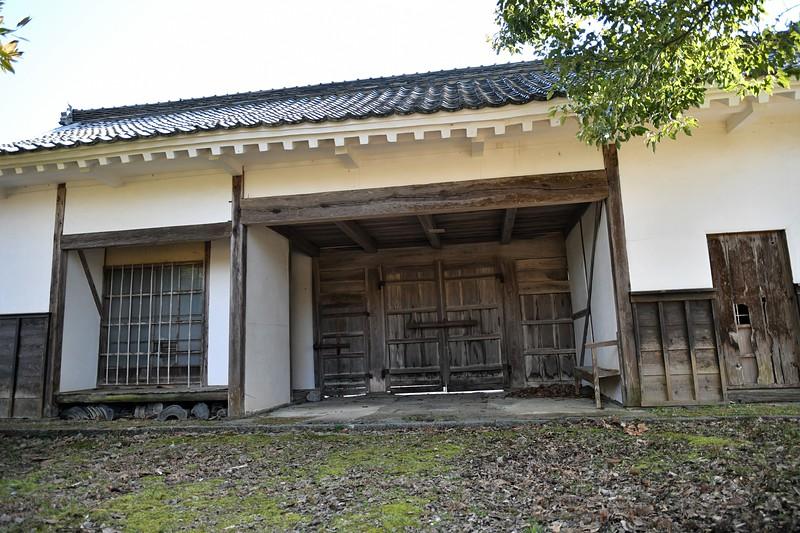 長屋門(裏から)