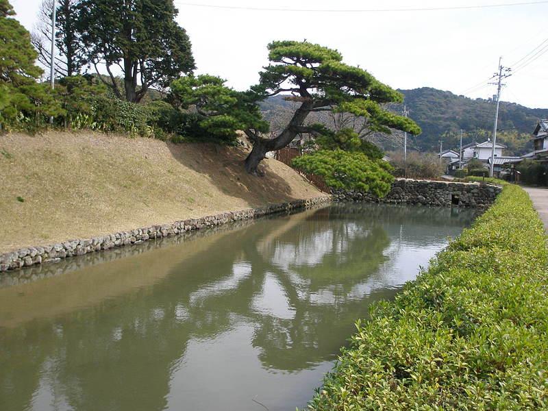 安芸城水堀