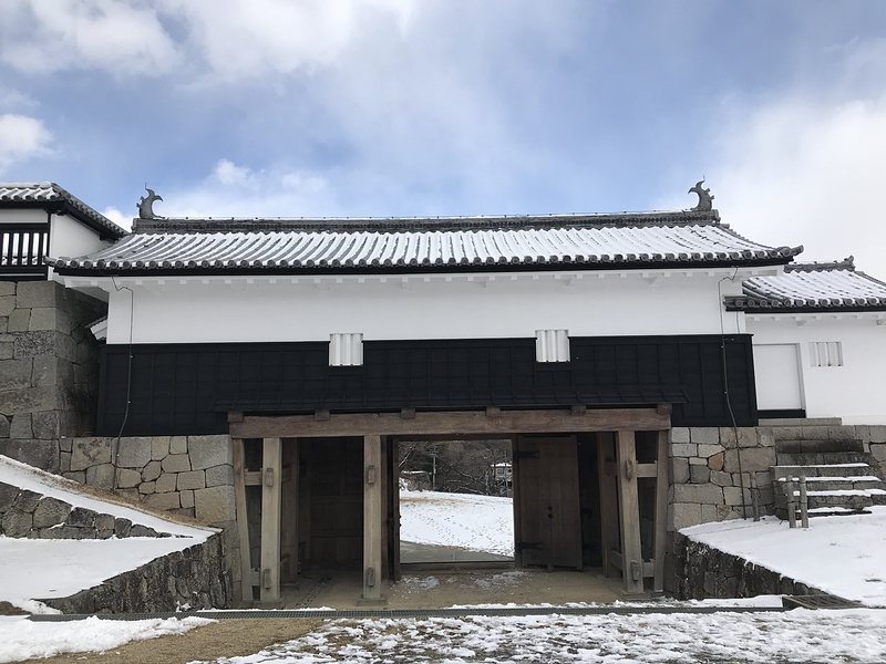 前御門(本丸から)