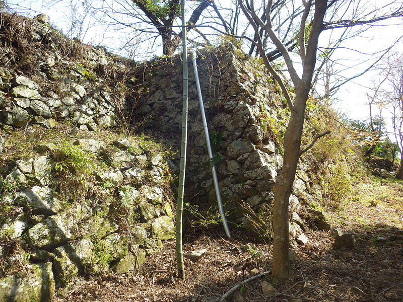 石垣の横矢