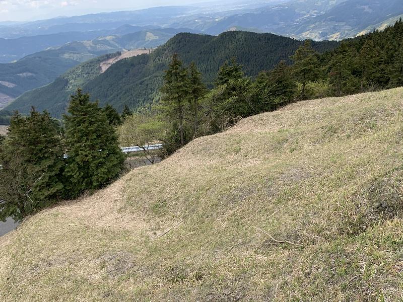 畝状竪堀群(上から)