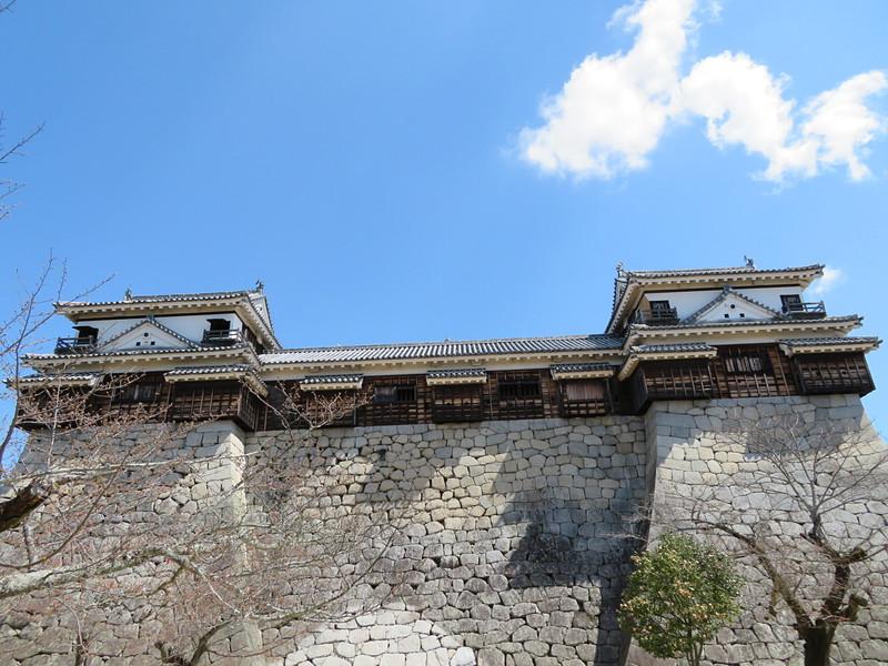 北、南隅櫓と十間廊下