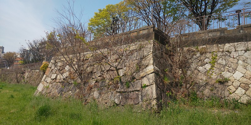 二の丸・素軒屋敷櫓跡。