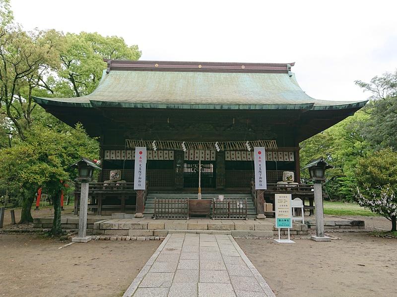 篠山神社(本丸御殿跡)