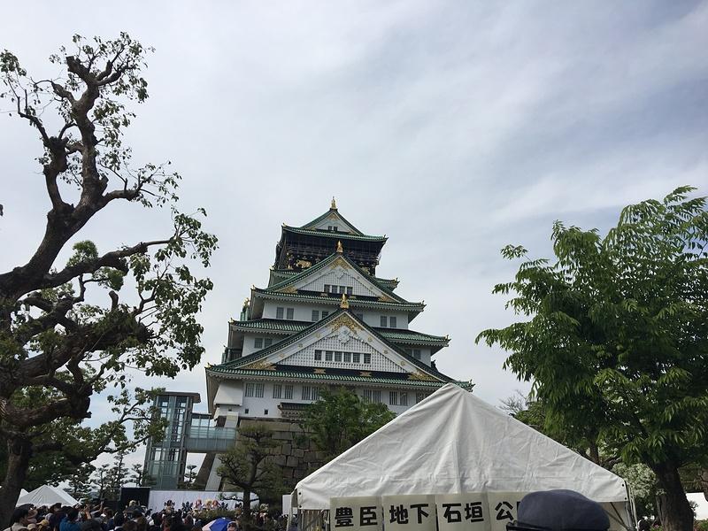 豊臣大阪城石垣公開