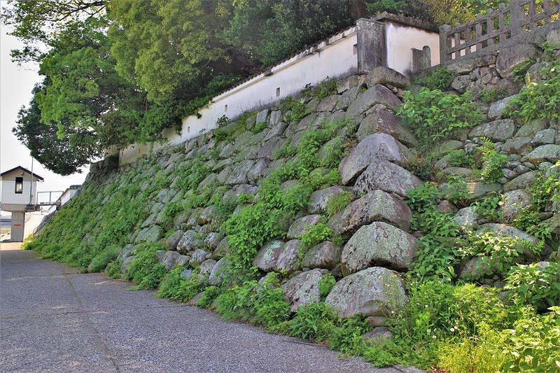 本丸石垣(北西側)