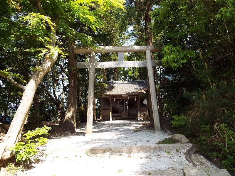 本丸の姫山神社