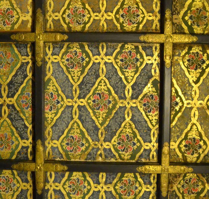 大広間三の間の天井画[二条城]