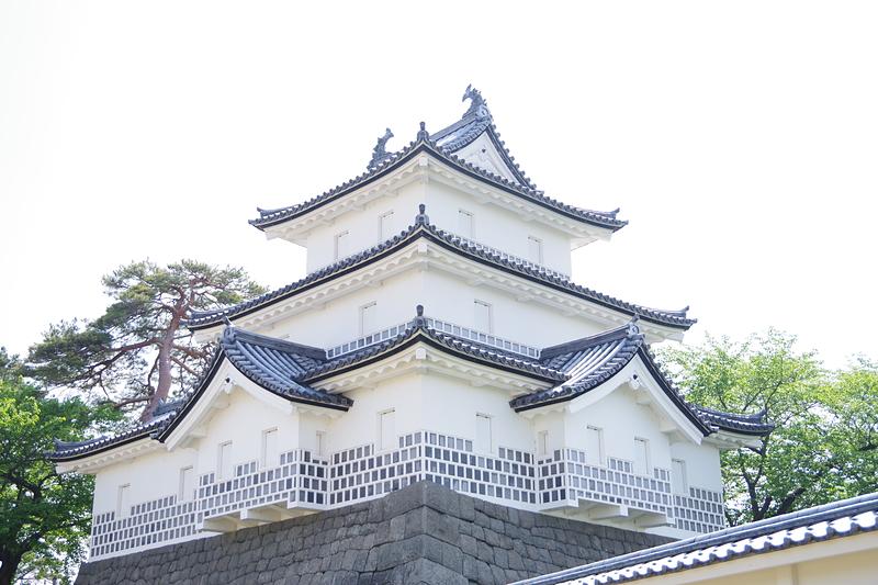 駐屯地側からの御三階櫓