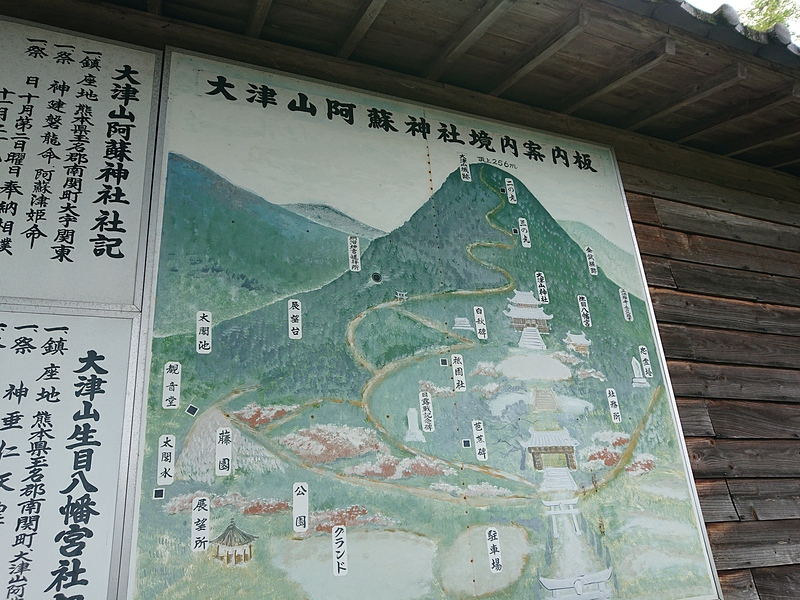 大津山阿蘇神社境内案内板