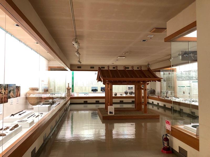 安来市立歴史資料館2F常設展示室[月山富田城]