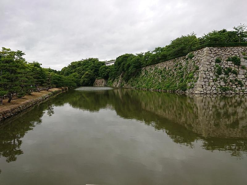 西の丸西側の内壕