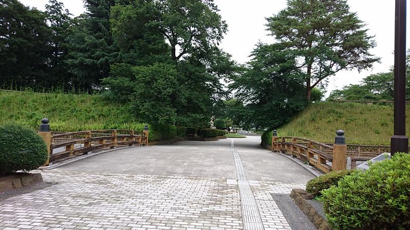 本丸に通じる橋