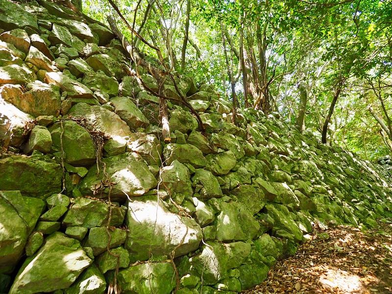北の丸石垣