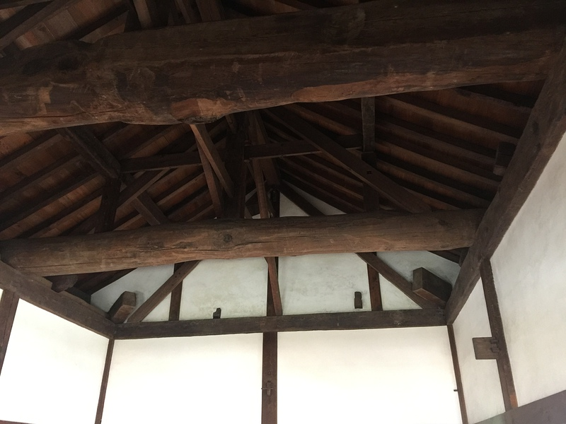 西北隅櫓 三階内部