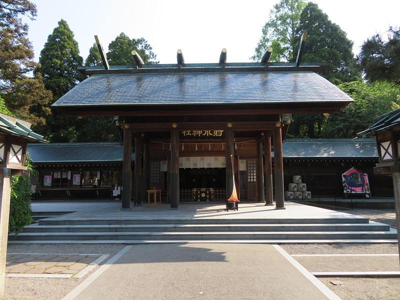 射水神社(本丸跡)