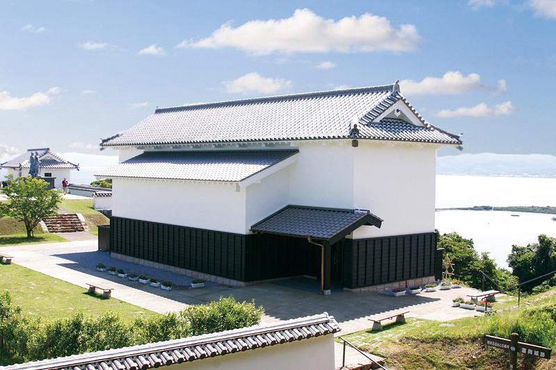歴史資料館(外観)[富岡城]