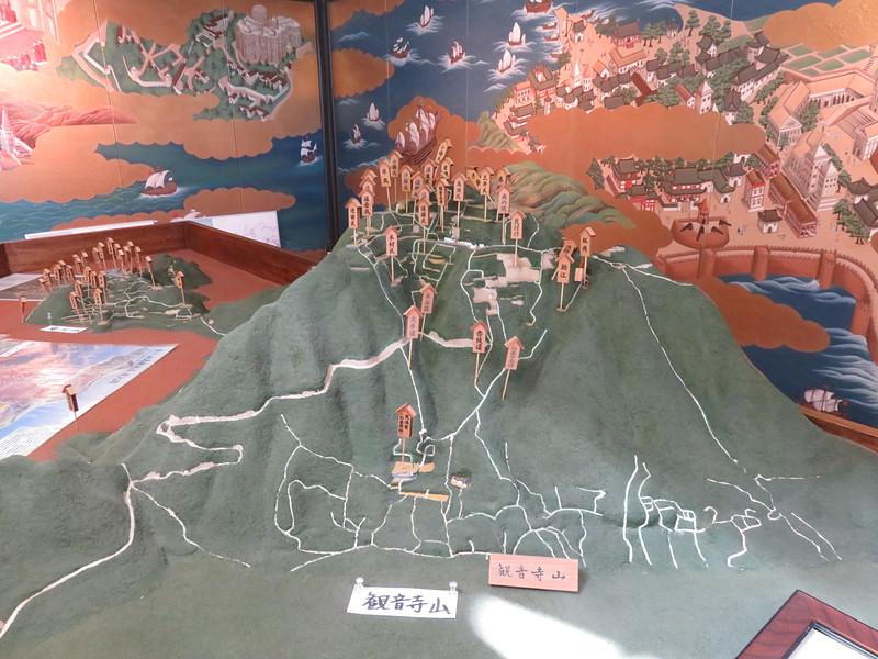 復元模型[観音寺城]