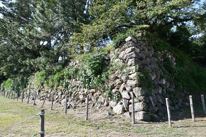 本丸石垣(臆病門横)