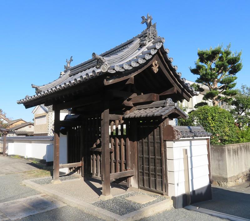 天城屋敷の総門