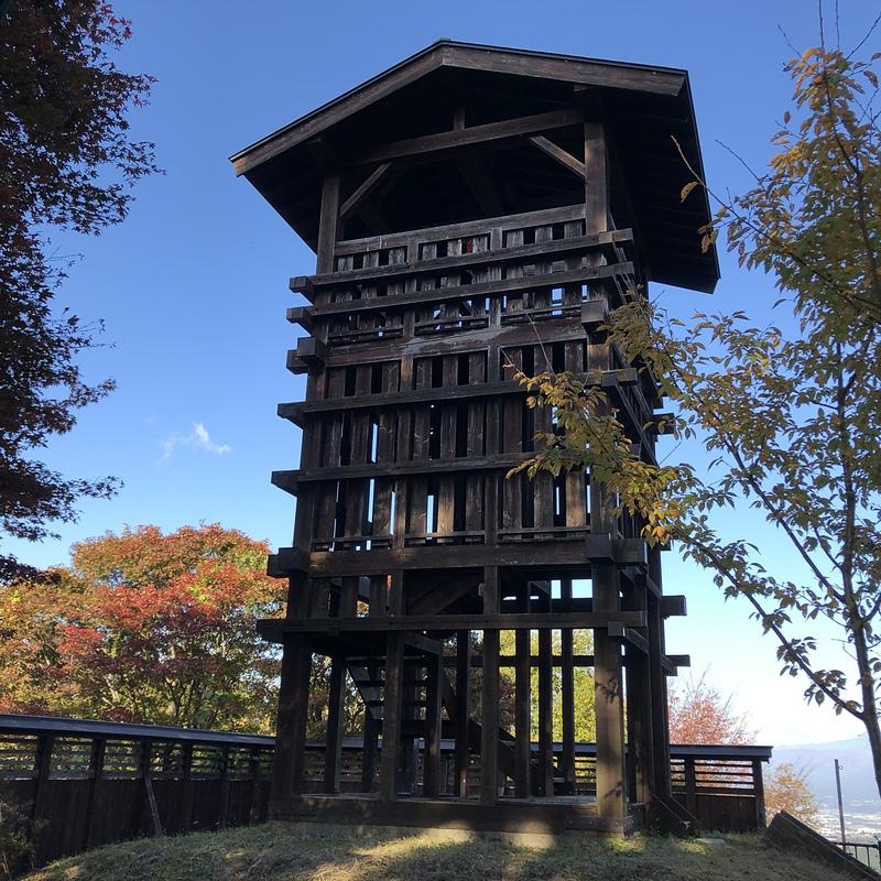 久米ヶ城の写真:物見櫓 | 攻城団
