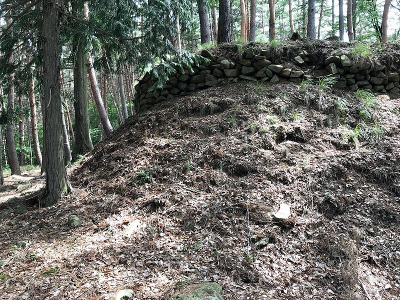林小城の石垣