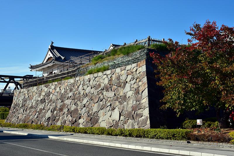 山手渡櫓門石垣