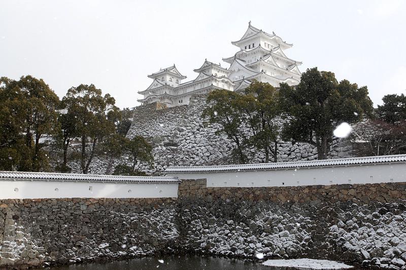 雪の三国掘