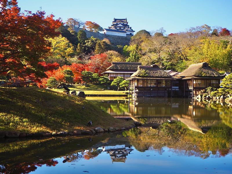 秋の玄宮園