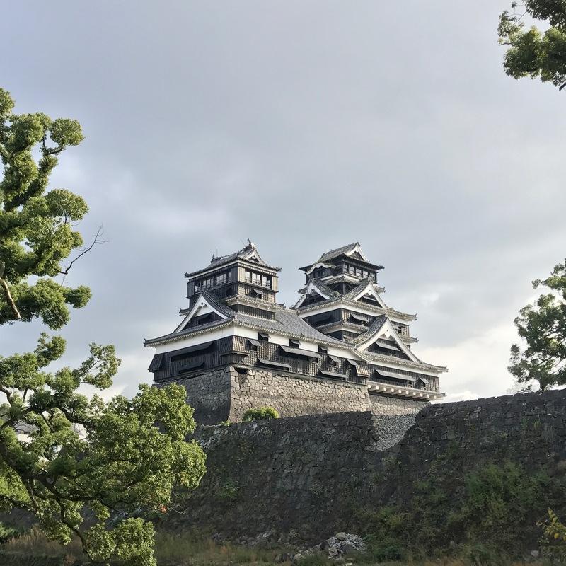 加藤神社から[熊本城]