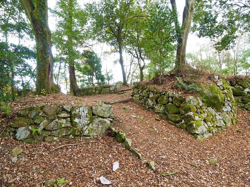 枡形の石垣