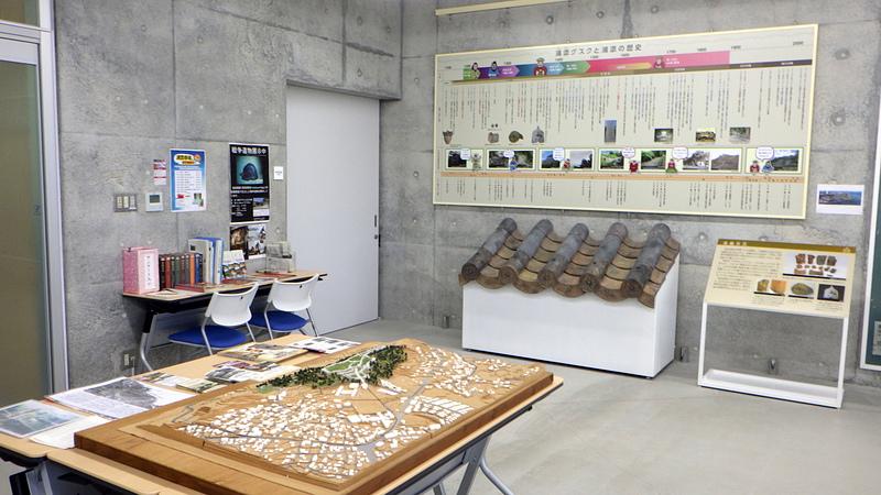 県営浦添大公園南エントランス管理事務所(ジオラマ模型等)[浦添グスク]