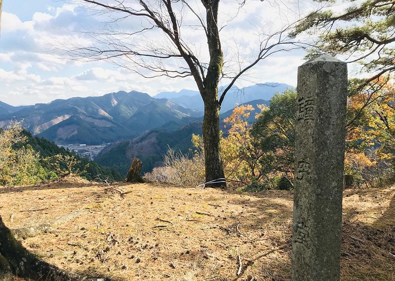 眺望と鐘突堂石碑