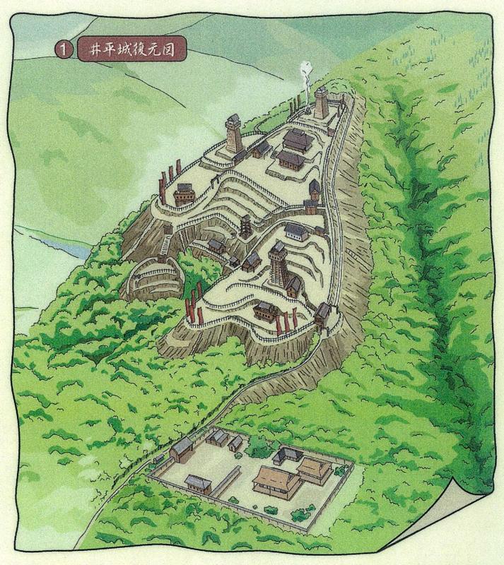 井平城復元図