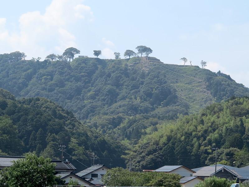 山麓からの遠景