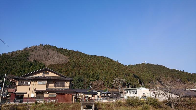 城山遠景(周山城)