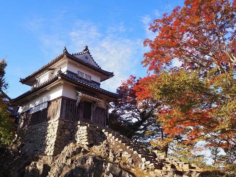 二重櫓秋景色