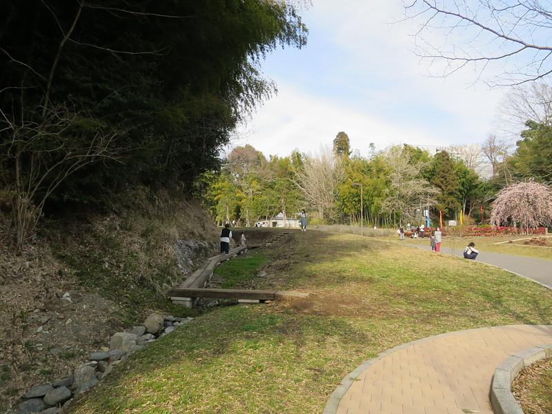 西の谷(外堀)