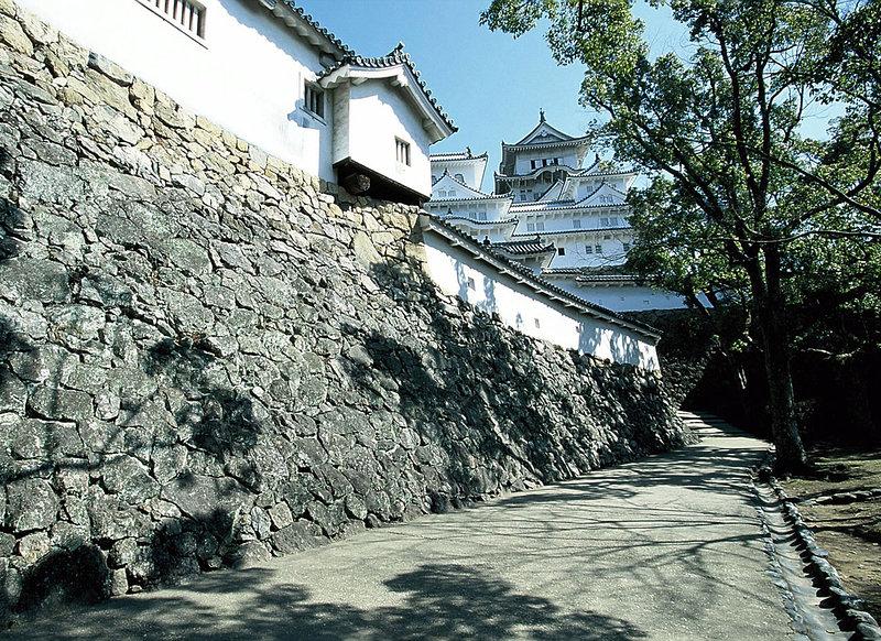 はの門の石垣(改修前)