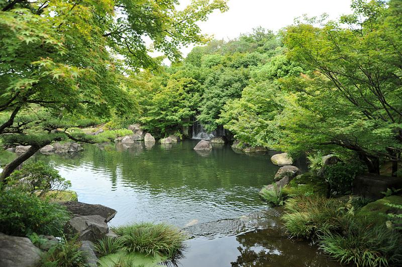 池の情景(潮音斎前)