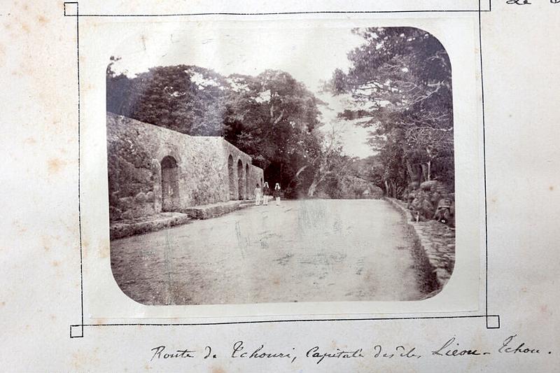 Route de Tchouri, Capitale des îles Lieou-Tchou [崇元寺の風景][首里城]