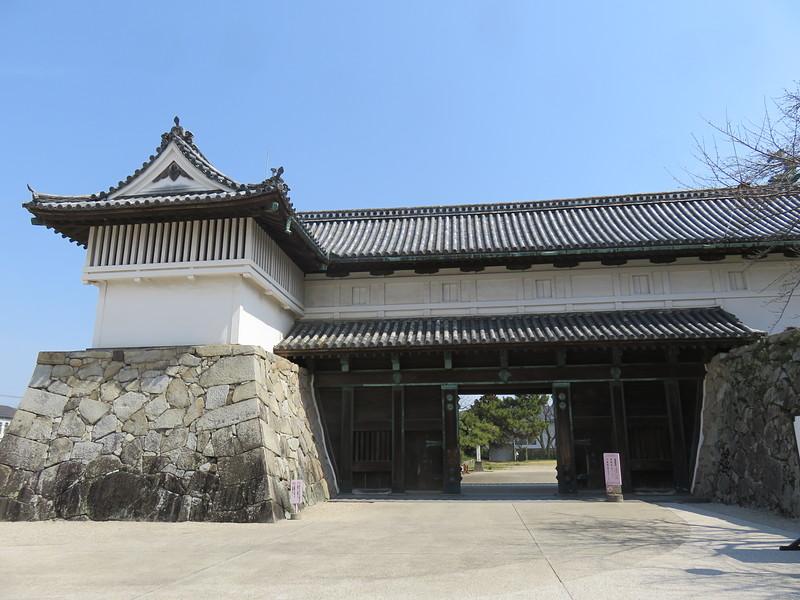 佐賀城鯱の門及び続櫓