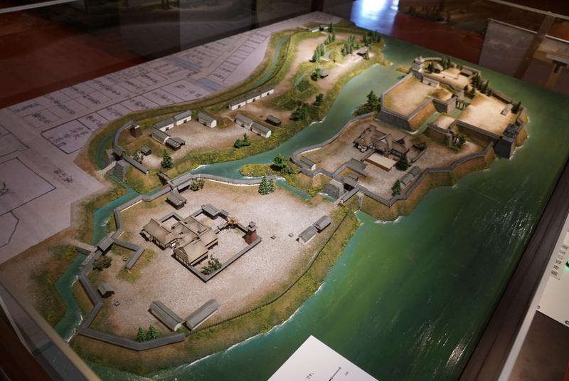 攻城団 | 館林城の写真:第一資料館のジオラマ