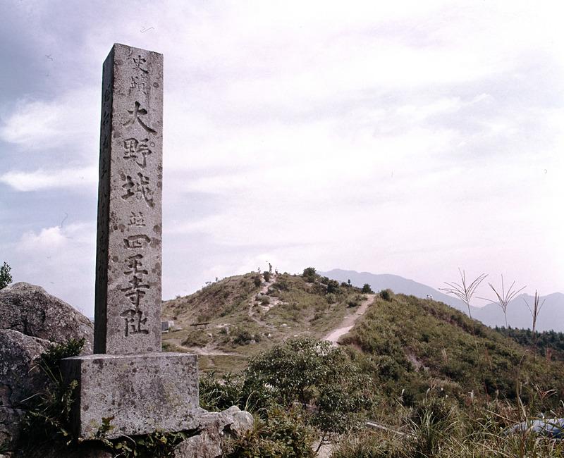 石碑 志王寺跡