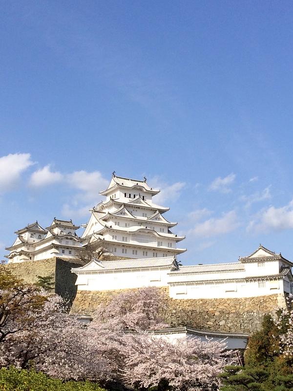 春の白鷺城[姫路城]