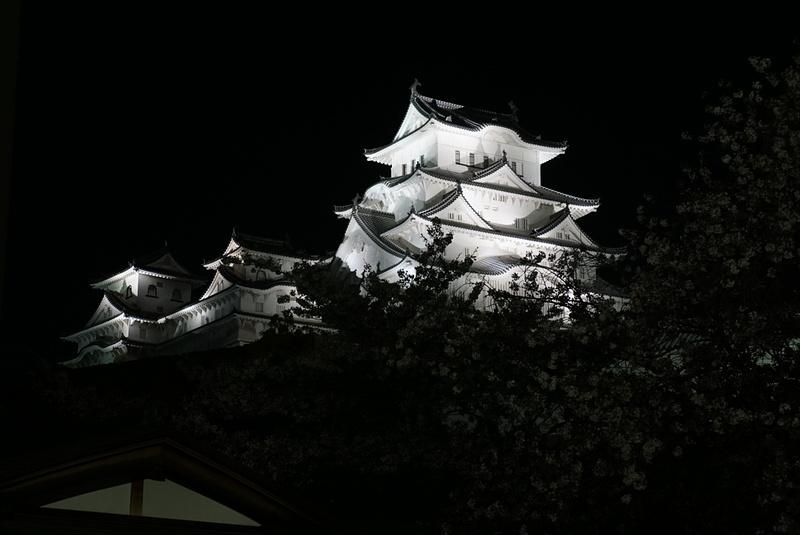 天守 夜景[姫路城]