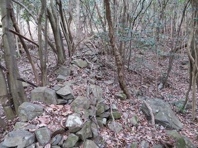 天瀬侍屋敷の石塀