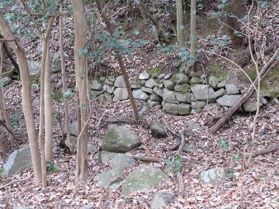 土壘の壇の石積
